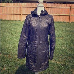Women's XS black Columbia coat